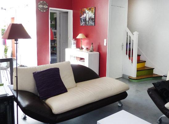 D Living De chambre d hôte de living room